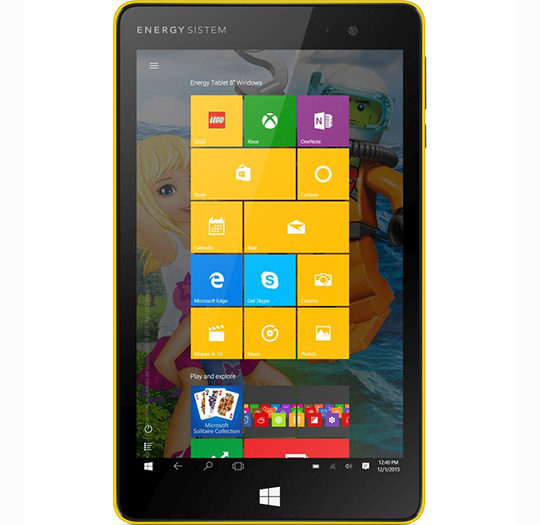Energy Tablet 8″ Windows LEGO